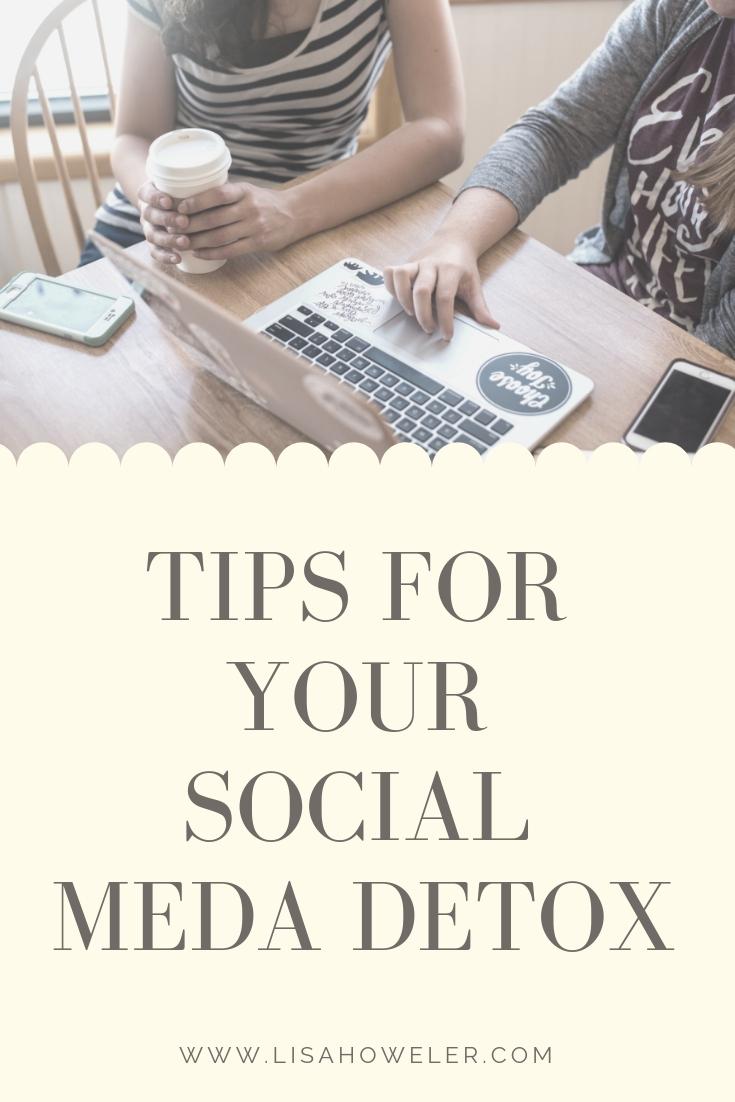 tips for your social meda detox