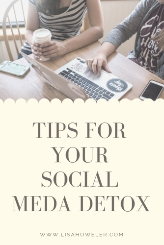 tips for your social meda detox